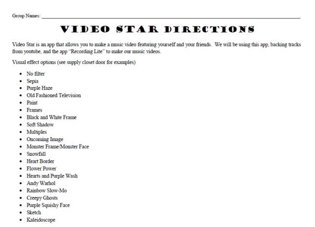 Videostar Directions 1