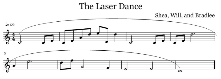 morrison shea will bradelee the laser dance