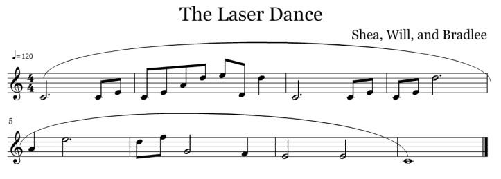 morrison shea will bradelee the laser dance